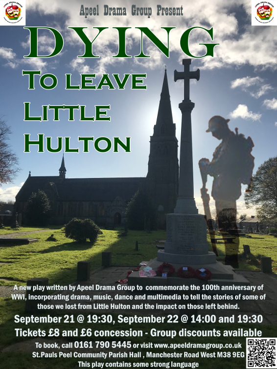Dying to Leave Little Hulton Poster